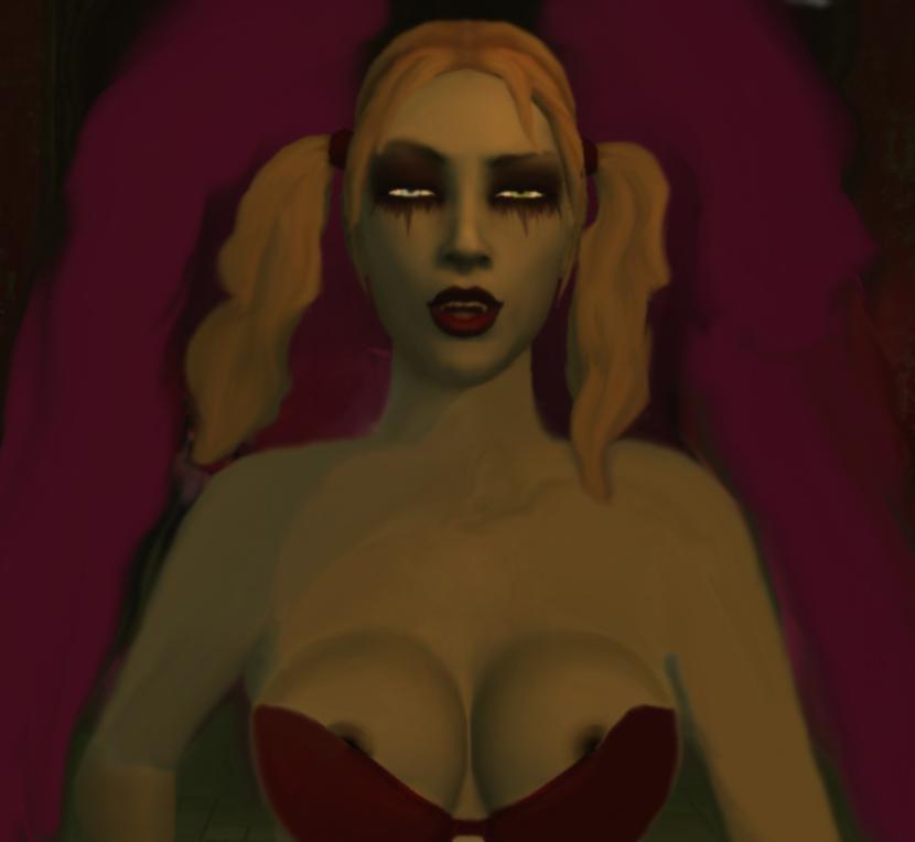 tourette bloodlines the masquerade vampire Mayoiga no onee-san