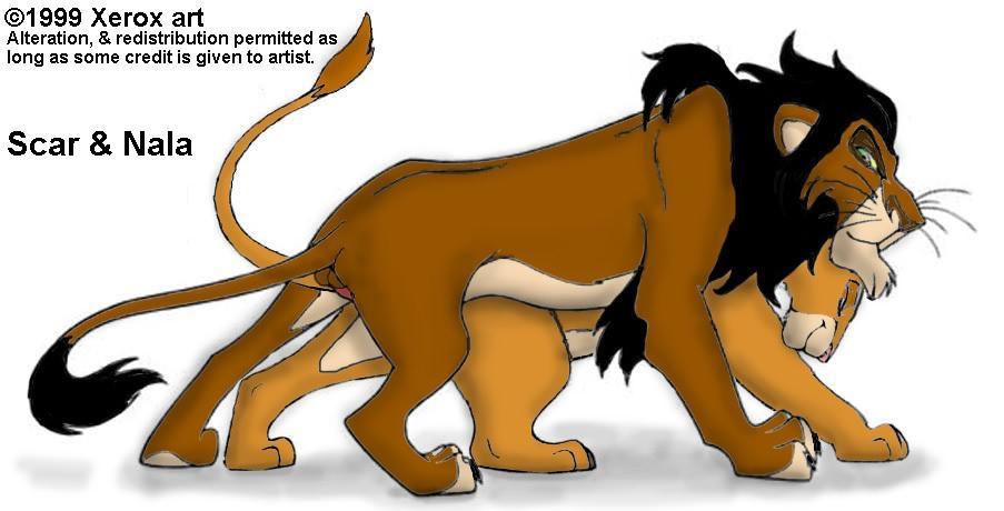 king lion hyena from girl Oukoso! sukebe elf no mori e