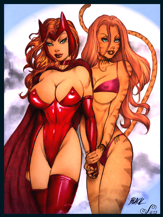 scarlet witch elizabeth olsen porn Lucy from fairy tail naked