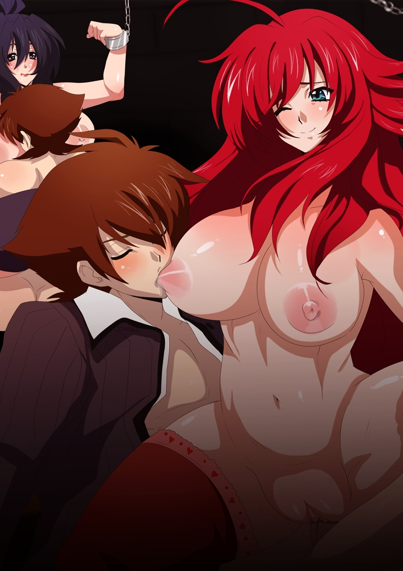 dxd x highschool issei ravel Erika trials in tainted space