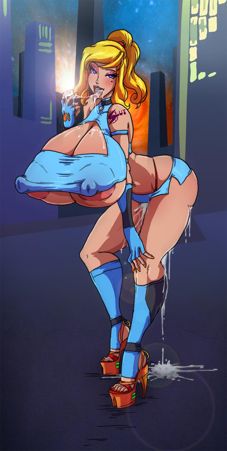 suit breast expansion zero samus Sword art online asuna henti