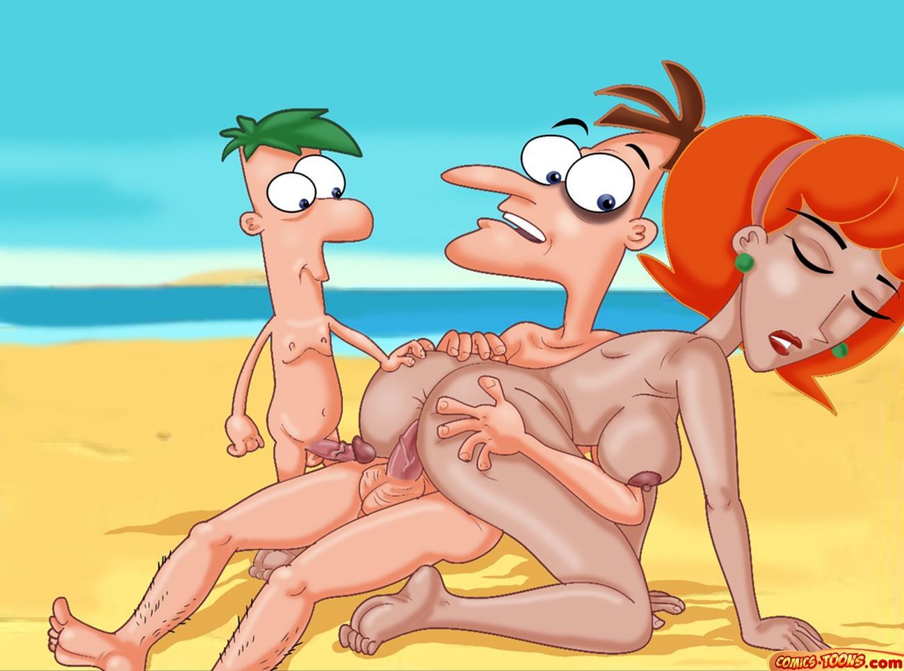 ferb nude linda phineas and Amazing world of gumball nicole hentai