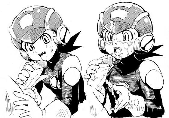 exe megaman and exe roll Yuuki miku highschool of the dead