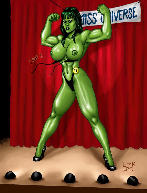 hulk she red vs hulk Elana champion of lust