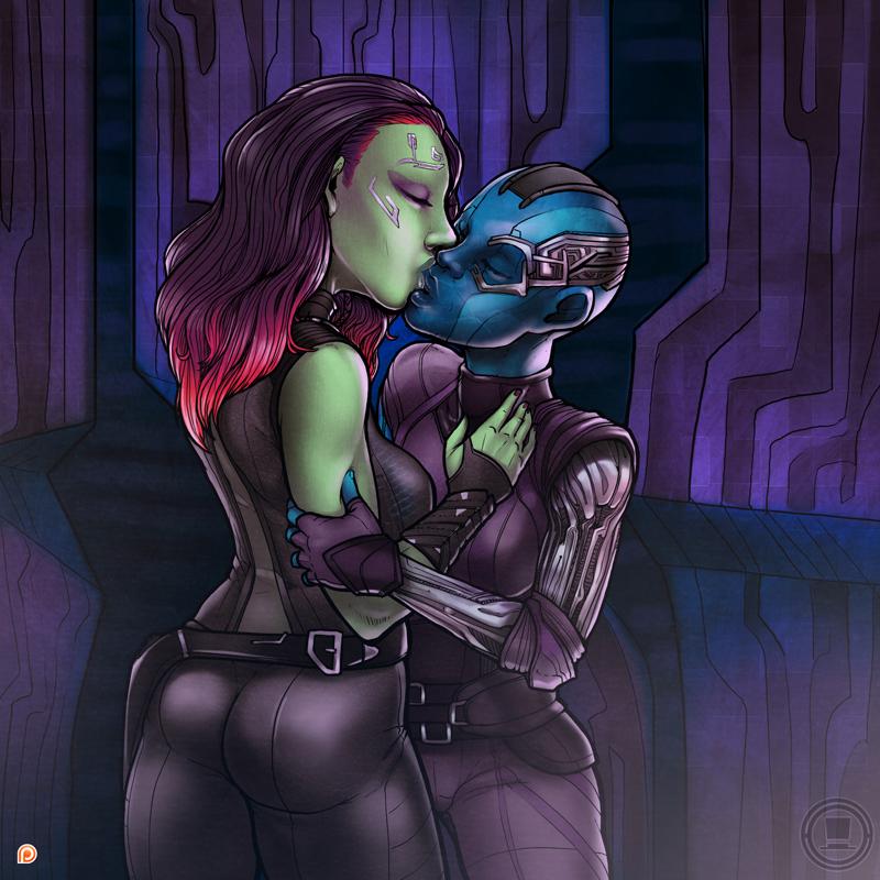 girl get to how alien huniepop the in Fnaf golden freddy x puppet