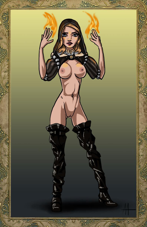 3 witcher tai hen Dead or alive kokoro nude