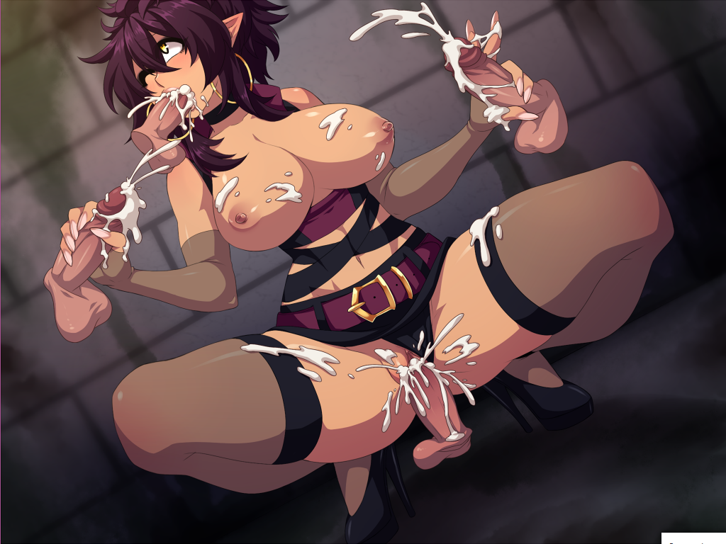 elf mono-tachi karu o You got whacked cuz you're weak