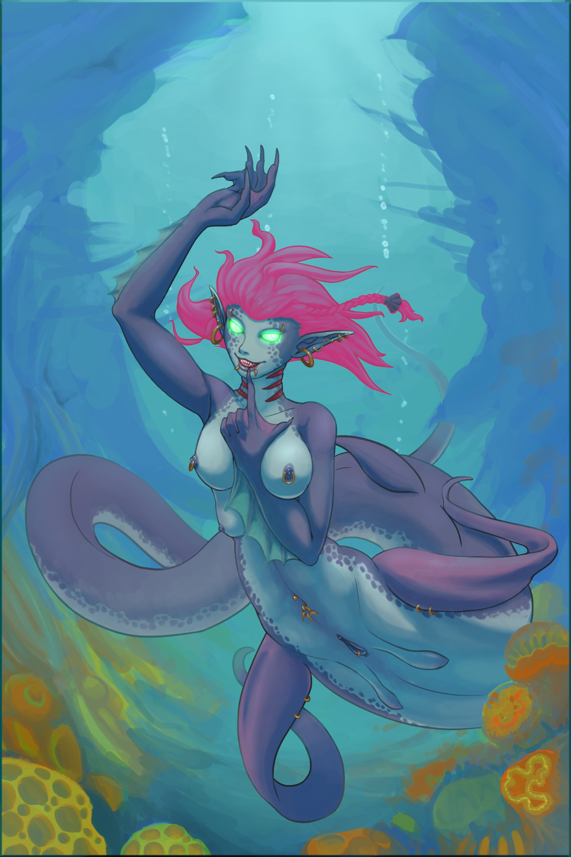 nipples glowing la kill kill Dragon quest iv female hero