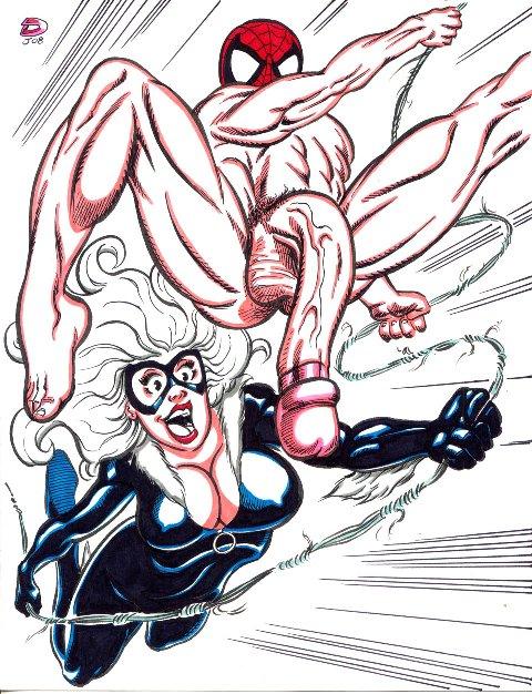 shadows of symbiote web cat man black spider Seiso de majime na kanojo ga saikyou yaricir ni kanyuu saretara