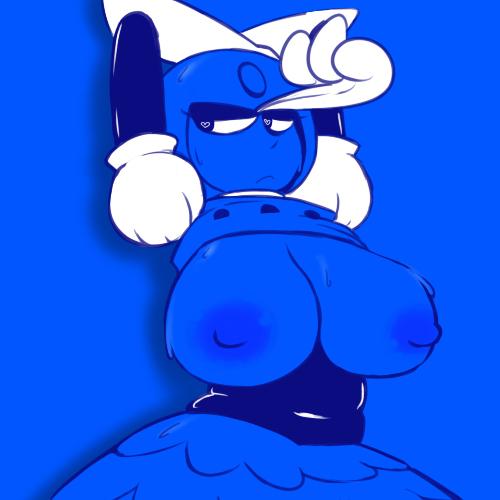 big women with boobs cartoon Beauty at the beach pokemon