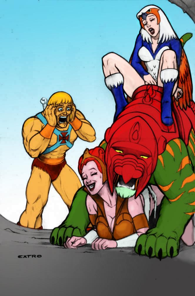 he-man Mortal kombat mileena and baraka