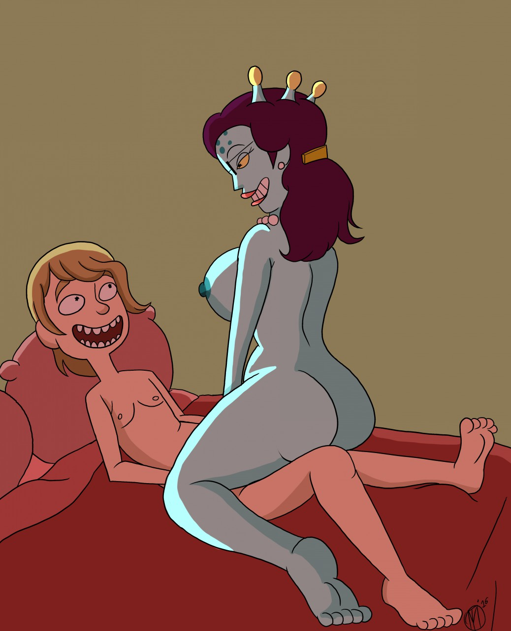 season morty and 34 rick Red x and raven fanfiction