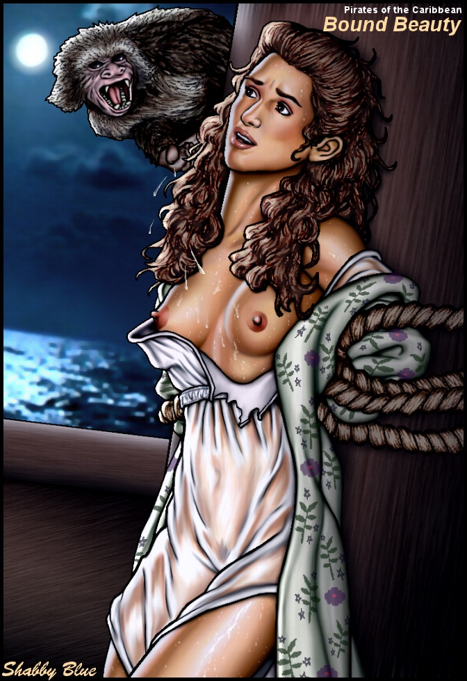 caribbean bosun of pirates the The shape of water nude