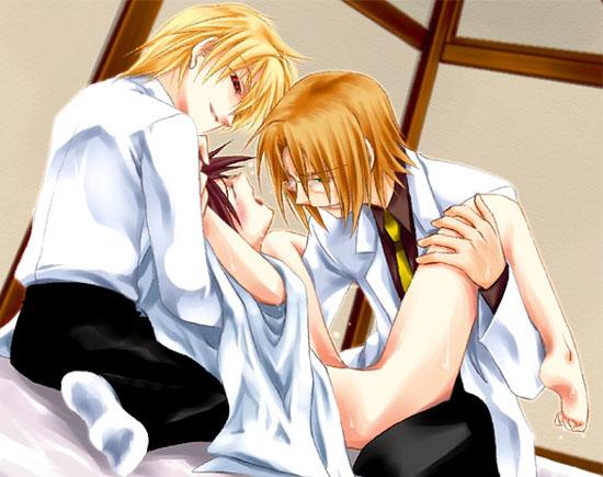 mamoru ni kun shukufuku megami no Kiba and naruto gay sex