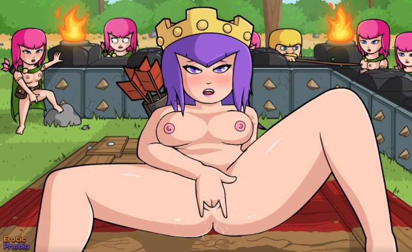 porn clash pic of clans Ane_naru_mono