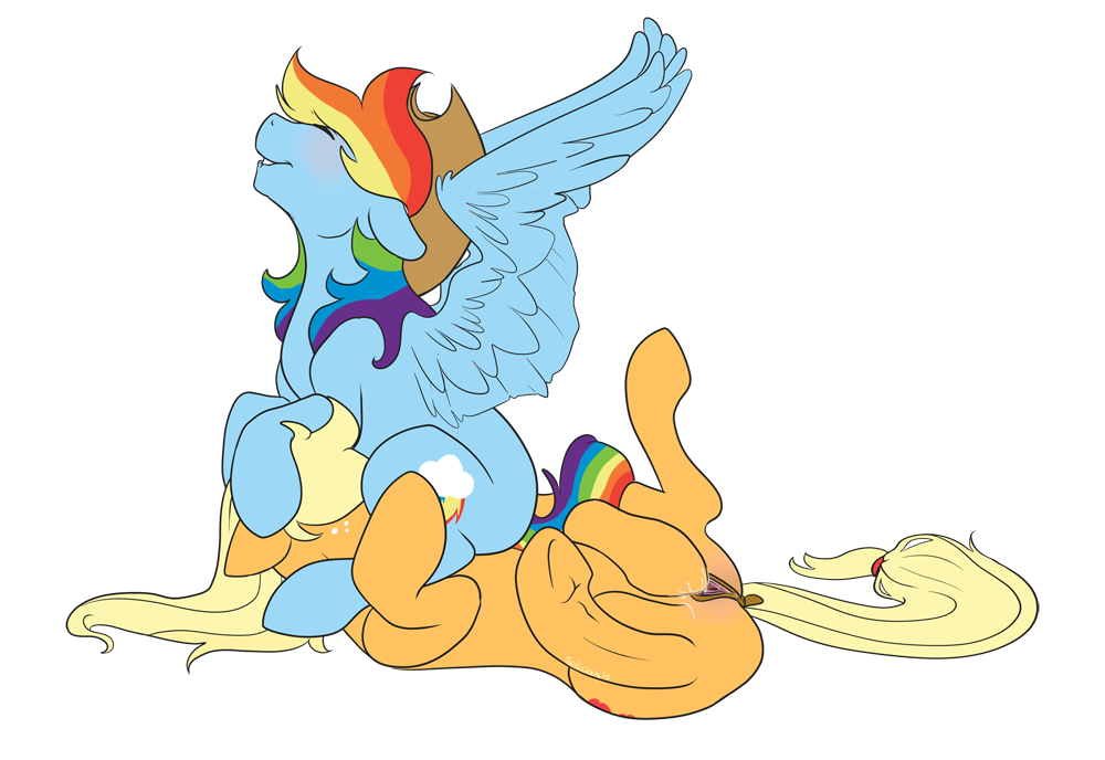 dash x applejack my rainbow pony little Last of us ellie anal