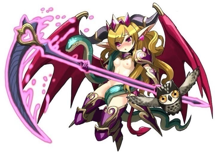 syrup z puzzle dragons and Clash of clans night witch